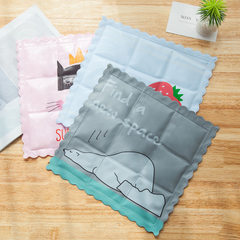 T summer ice cushion office chair cool pad cartoon seat cushion car cooling ice cold ice crystal pad Grizzly polar bear