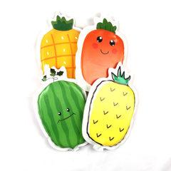 新款异形水果冰垫 夏季降温散热PVC冰晶冰垫 办公室午睡冰凉坐垫 菠萝