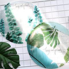 Summer cooling multifunctional cool cushion cushion cushion for leaning on circular ice cushion cool Yuan yuan four leaf