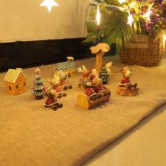 zakka杂货 圣诞版仰望天空11款 树脂圣诞礼品 创意家居小动物摆件 601-1小熊