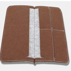 Manufacturers direct selling felt products felt bag fashion fine felt wallet quality assurance suppo Can be customized