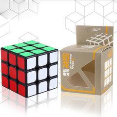 [yongjun guanlong third order rubik`s cube YJ8305] the 3rd order rubik`s cube children`s competition Corona third order black bottom