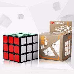 永骏魔方冠龙三阶魔方 儿童智力开发早教玩具 YJ8305 一件代发 黑色