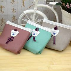 South Korea lovely mini wallet zero purse waterproof hand held coin zero purse bag zero purse Mix model