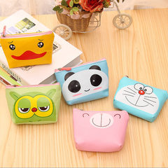2018 new cartoon cuteness mini high quality PU zero purse coin bag with key zipper bag wholesale Jingle cats