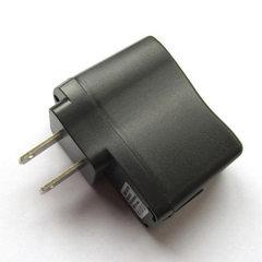 【批发】高品质USB适配器USB充电器带指示灯通用充电头 带IC保护 黑色