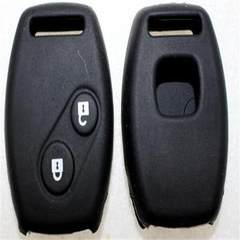 Honda silicone key pack in stock with 2-key straight plate civic/accord/fit/Odyssey/cr-v fan grey