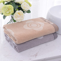 Ningde city towel custom logo embroidery print gift box set jialiya brown 140 * 70