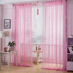 厂家直销 蕾丝镂空窗帘窗纱 卧室阳台客厅书房装饰遮光 可定制 粉红色