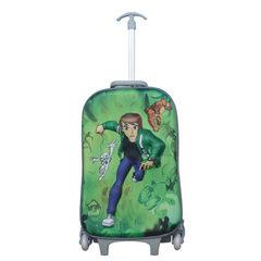 Schoolbag gift car design children`s pull rod box cute cartoon 16 inch pull rod box random color 40  green 18