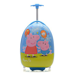 Children`s pull rod box primary school children`s luggage bag 16 inch minion cartoon cute PC one-way With a 16 inches