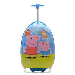 儿童拉杆箱 小学生行李箱包16寸小黄人卡通可爱PC单向轮旅行箱 款一 16寸
