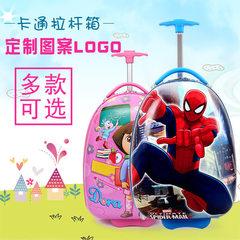 儿童拉杆箱多种图案行李包幼儿园小学蛋壳形状拉杆包厂家直销直销 小黄人 16寸