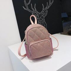 Wholesale Korean version of double shoulder bag women 2018 summer fashion handbag backpack simple an black