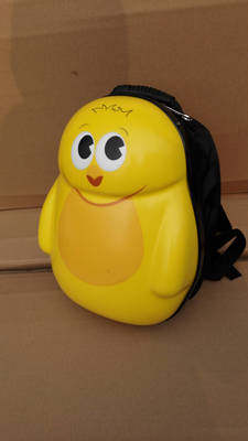 Manufacturer wholesale custom cartoon PC hardcover schoolbag for kindergarten students 13