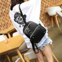 Manufacturer wholesales 2018 new south Korean Oxford double shoulder bag female hipster schoolbag le black
