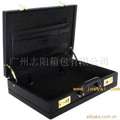 Guangzhou professional processing plant manufacturers direct selling portable leather cases black