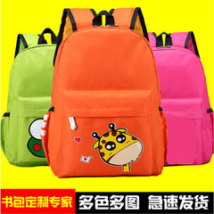 Wholesale kindergartens schoolbag men and women children bag custom children`s schoolbag advertising The mouse