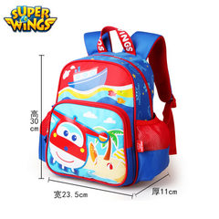 Jingyou wisdom to create authentic super flying kindergarten schoolbags 3-6 years old children schoo red