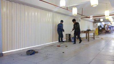 Supply wholesale: PVC folding door sliding door PVC sliding door plastic sliding door 7