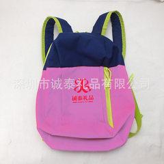 Customized preschool children backpack children dance bag waterproof nylon schoolbag manufacturers pink