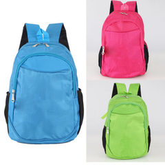 Advertising schoolbag wholesale printing logo backpack print children backpack printing primary scho green