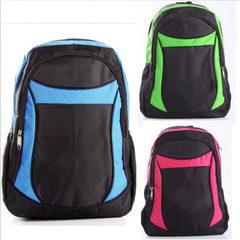 Advertising schoolbag customized schoolboy backpacks printed word outdoor backpacks printed word log green
