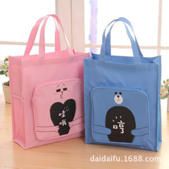 Pocket bag rich direct selling tutorial bag for boys and girls lesson bag for middle and primary sch Little pink west