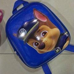 2018 spring new schoolbag cartoon kindergarten children and boys schoolbag yellow