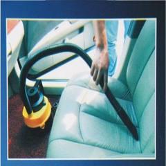 批发汽车用吸尘器 大号强力干湿两用圆桶车载多功能 红色