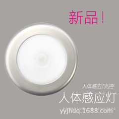 Foreign trade ebay amazon quick sale hot style LED induction lamp small night light aisle light cabi 0.7