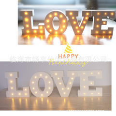 15cm children`s bedroom digital wooden led alphabet lamps induction night light setting shooting wed 0.6
