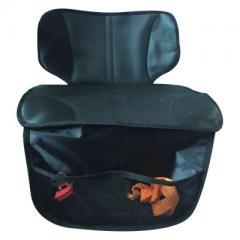 Car antifriction pad child safety seat antiskid pad anti-abrasion cushion seat protection pad semi-p black