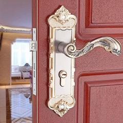 欧式合金执手锁机械锁室内门锁实木门锁房门舌锁锁具厂家批发铝 50*45