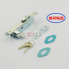 Manufacturer direct - selling high - moving door lock plug - core push - pull lock invisible door ho Hook and tongue double lock
