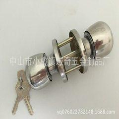 厂家直销三杆铝塑球形门锁5731亮光现货锁具批发物美价廉欢迎选购 30-50mm