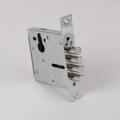 Wholesale production of YS-996 yongming door side lock high-quality mechanical steel round head lock 24 * 150 mm