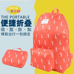 Manufacturer direct selling portable large - capacity skin outside sports double shoulder bag foldin blue