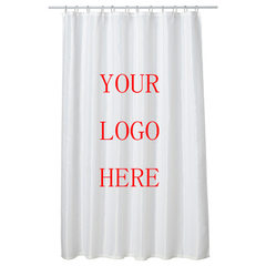 Cartoon can be customized waterproof, mould-proof and thickened shower curtain shower curtain toilet Design is a 180 * 150 cm