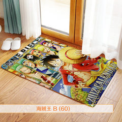 To customize the home soft decoration cartoon multi-functional anti-sliding door mat short plush flo To figure custom 40 * 60 cm