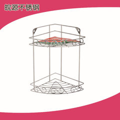 Production and sales of stainless steel bath rack products wy-832 double stainless steel tripod Layer 2