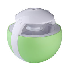 New USB night elf humidifier small night lamp creative desktop mini led humidifying air purifier Clear, green, 126 * 126 * 120 mm