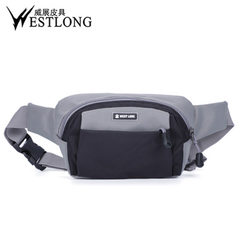 Spot wholesale 6136 European and American fashion leisure Fanny pack outdoor sports waterproof small green