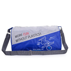 Single shoulder cylinder travel bag exercise bag custom swimming bag luggage bag travel agency bag c red