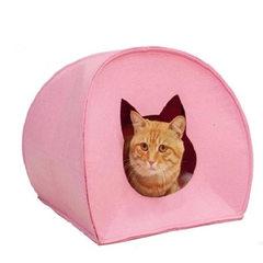 厂家直销毛毡窝 宠物窝 无污染透气毛毡布宠物帐篷窝 猫帐篷 多选 可定制