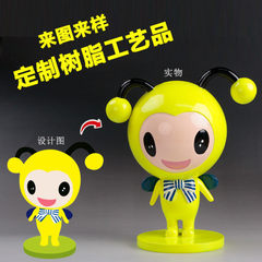 Resin doll handicraft custom - made cartoon doll hand - handled decoration creative resin mascot pro Let`s make it customized Let`s make it customized