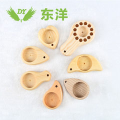 Manufacturer direct selling face brush handle wooden handle cosmetics brush pine handle synthetic ba 92 * * 20 57 mm