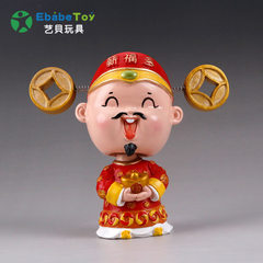 The factory produces resin handicraft to set pieces processing customized creative cartoon character A multiple of 5 yuan Talk about paying the proofing fee