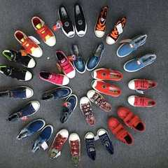 2017 new style fashion children`s shoes/miscellaneous goods clearance processing low-price amortized Hybrid model mixed color 34