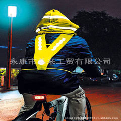 A-safety reflective cotton coat reflective vest cycling reflective vest reflective jacket reflective yellow All code